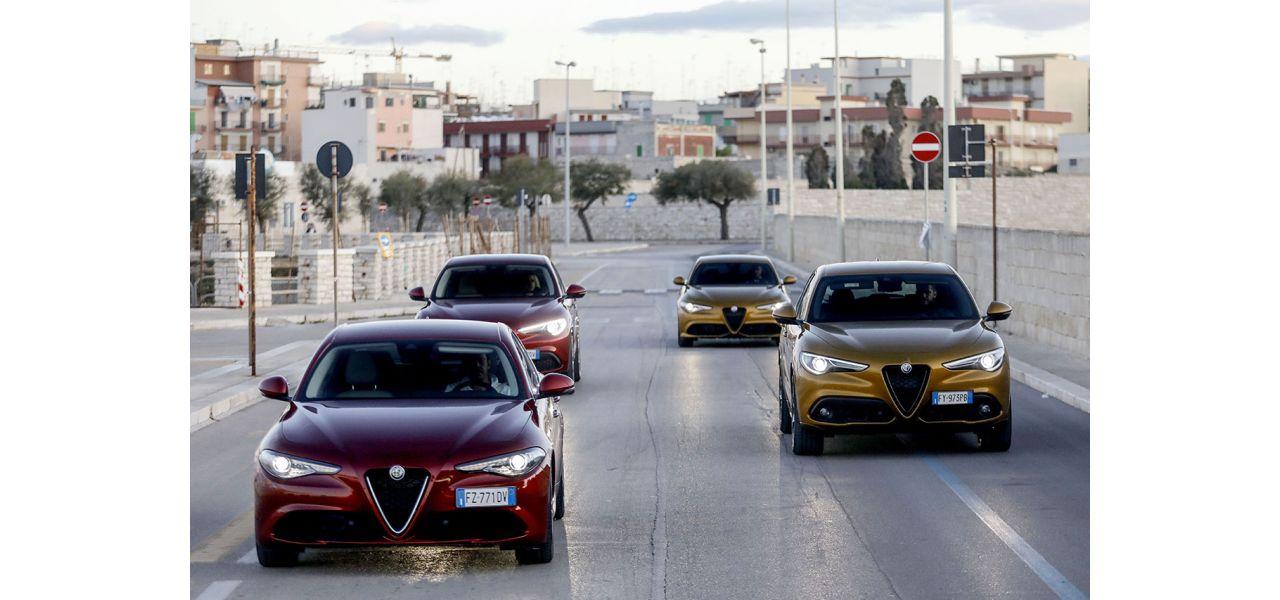 Alfa Romeo Giulia Alfa Romeo Stelvio Quadrifoglio MY2020